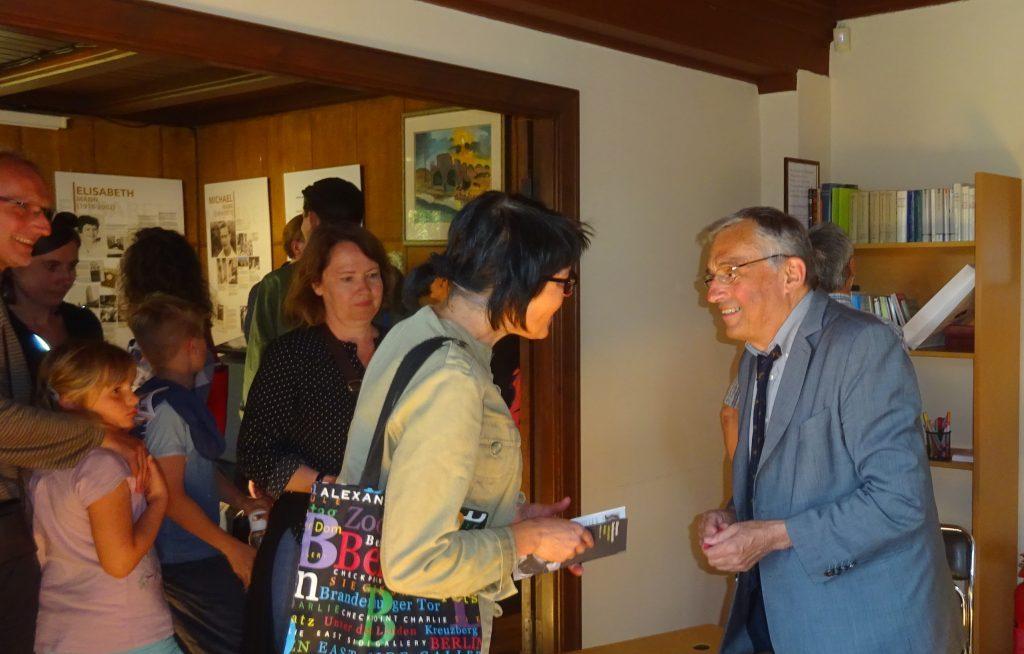Treffen mit Gindrich Mann