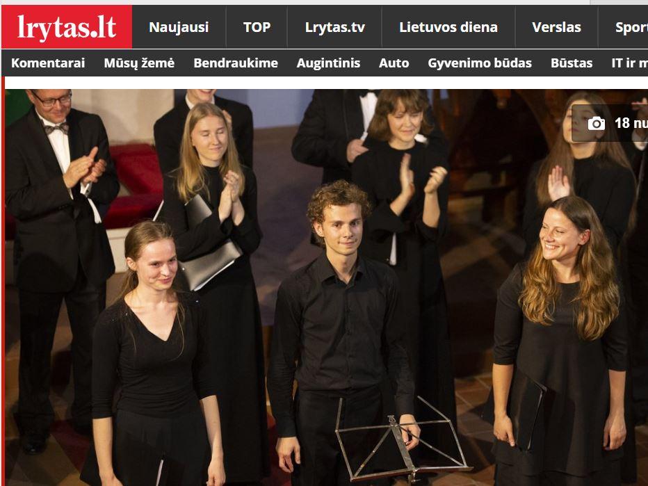 Junge Dirigenten auf dem Festival in Nida