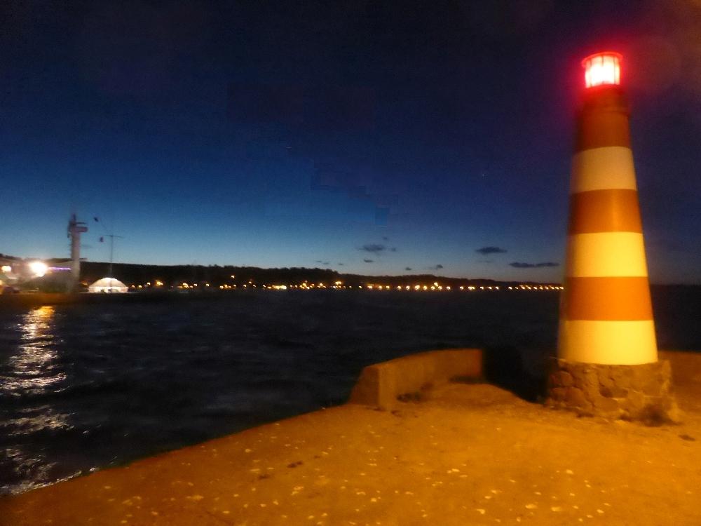 Hafen Abend Nida